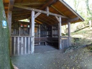 Schutzhütte Rheinsteig