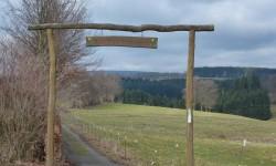 Klosterroute mit Abstecher zum Kreuz im Venn